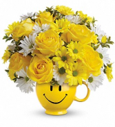 send smiles Flower Arrangement