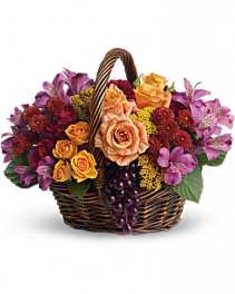 Sending Joy Basket Flower