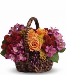 Sending Joy  Floral Basket (T173-3A)
