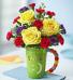 EXCLUSIVELY AT FLOWERS TODAY FLORIST Sending you Big Smiles Ceramic Mug