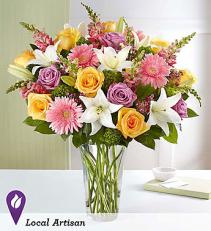 Sensational Spring Beauty All around arrangement