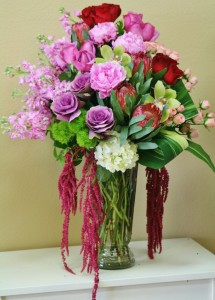 SENSATIONAL SUPERSTAR  Arrangement of Flowers