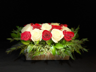 Sensual Bed of Roses  Valentine's Day