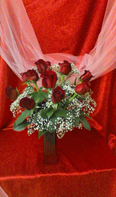 R12SS Sent With Love Valentine Arrangement