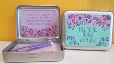 Sentiment Box Fill Your Heart With Joy