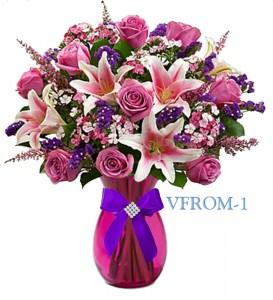 Sentiments Of Love Floral Arrangement