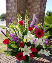 Sentimental Joy Floral Basket