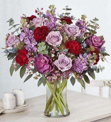 Sentimental Solace™ Bouquet sympathy arrangements