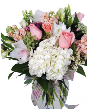 Sentiments sympathy bouquet  Vase