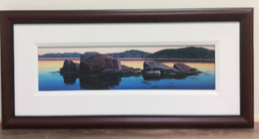 Sentinals Ed Roche Framed prints