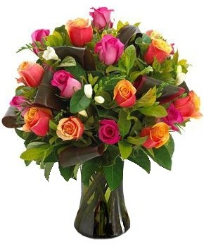 MIX  LUXURY  ROSES   BOUQUET