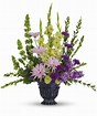 Serene arrnagment  Funeral in Claremont, NH | FLORAL DESIGNS BY LINDA PERRON
