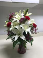 Serene Beauty Fresh Vased