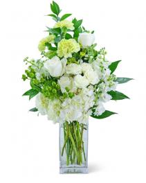 Serene Cashmere Flower Arrangement