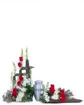 Serene Sanctuary Tribute Sympathy Arrangement