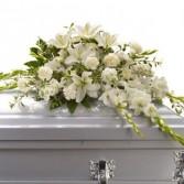 Serene Splendor Casket Flowers