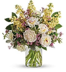 Serene Spring Peony Bouquet  in Lauderhill, FL | BLOSSOM STREET FLORIST