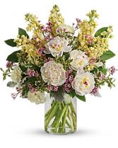 Serene Spring Peony Bouquet Bouquet