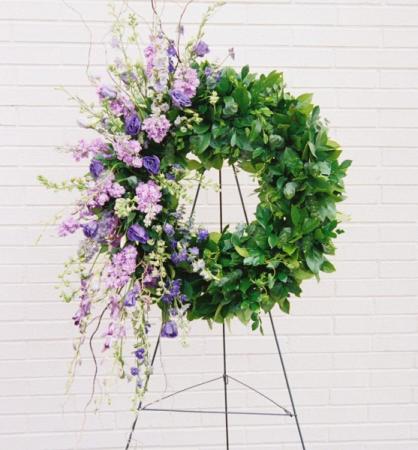 Serene Wreath Funeral Wreath