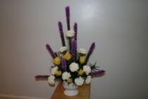 Serenety Urn Vase Arrangement