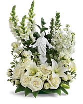 Serenity Bouquet Sympathy Arrangement