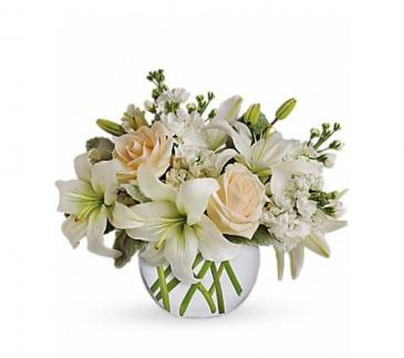 Serenity bouquet  Vase