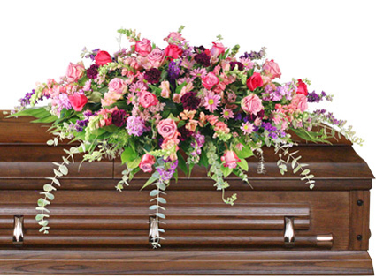Divine destination casket spray in siloam springs ar family florist divine destination casket spray mightylinksfo