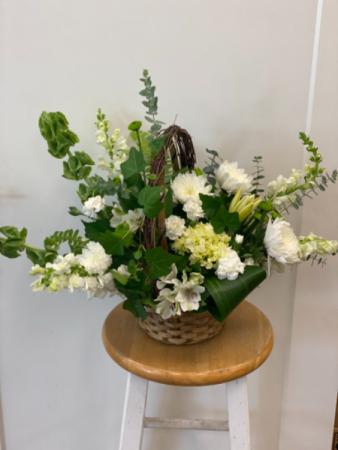 Serenity Flower Basket