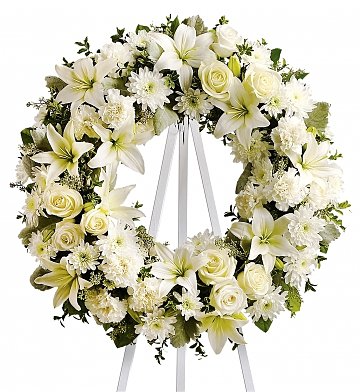 Funeral Flowers Serenity Tribute