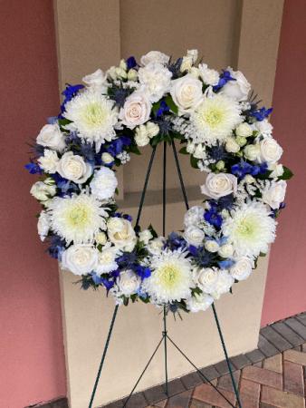 Serenity Funeral Wreath