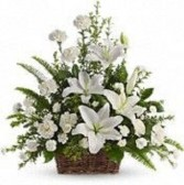 SERENITY PRAYER BASKET Sympathy flowers