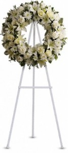 SERENITY WREATH Funeral FLowers
