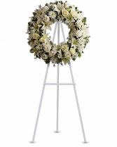 Serenity Wreath Funeral Wreath