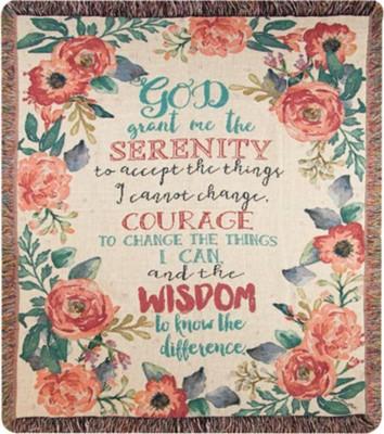 Serentiy Prayer Tapestry throw