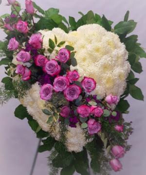 Serinty love heart Just beautiful heart.  in Ozone Park, NY | Heavenly Florist