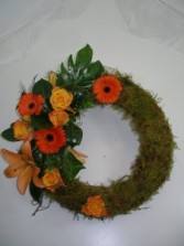 Service Wreath  Symphaty flowers
