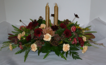 SET AN ELEGANT TABLE Fresh arrangement