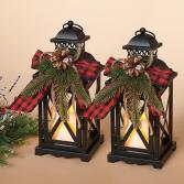 Set of 2 Holiday Lantern