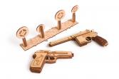 Set of Rubber Band Guns 3D Puzzle