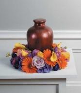 TABLE WREATH MEMORIAL (urn not incl.)  sf-39-11