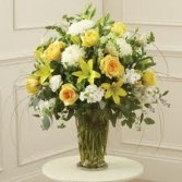 SF 2-Mixed flowers in a vase Flowers and colors may vary