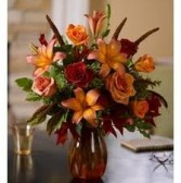 SF-5 Mixed Flowers in a vase Flowers and colors may vary