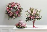SF130-11 Lily Wreath