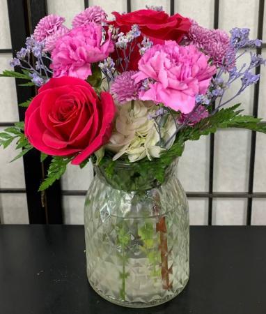 SFS LGV Vased Bouquet