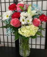 SFS T973 Vased Bouquet
