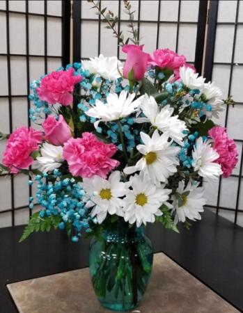 SFS T999 Vased Bouquet