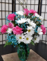 SFS T999 Vased Bouquet