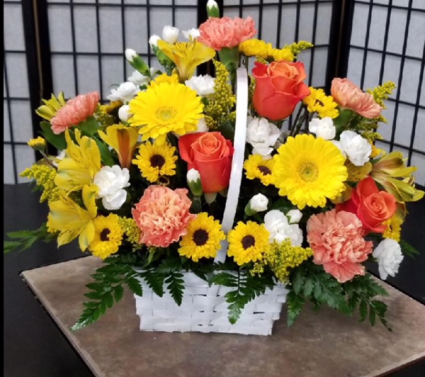 SFS WBYO Basket Arrangement