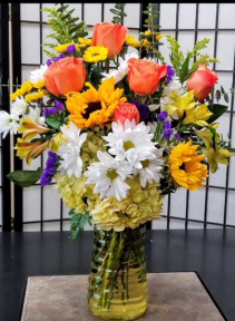 SFS Y973 Vased Bouquet