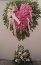 SH5 Pink Rose heart